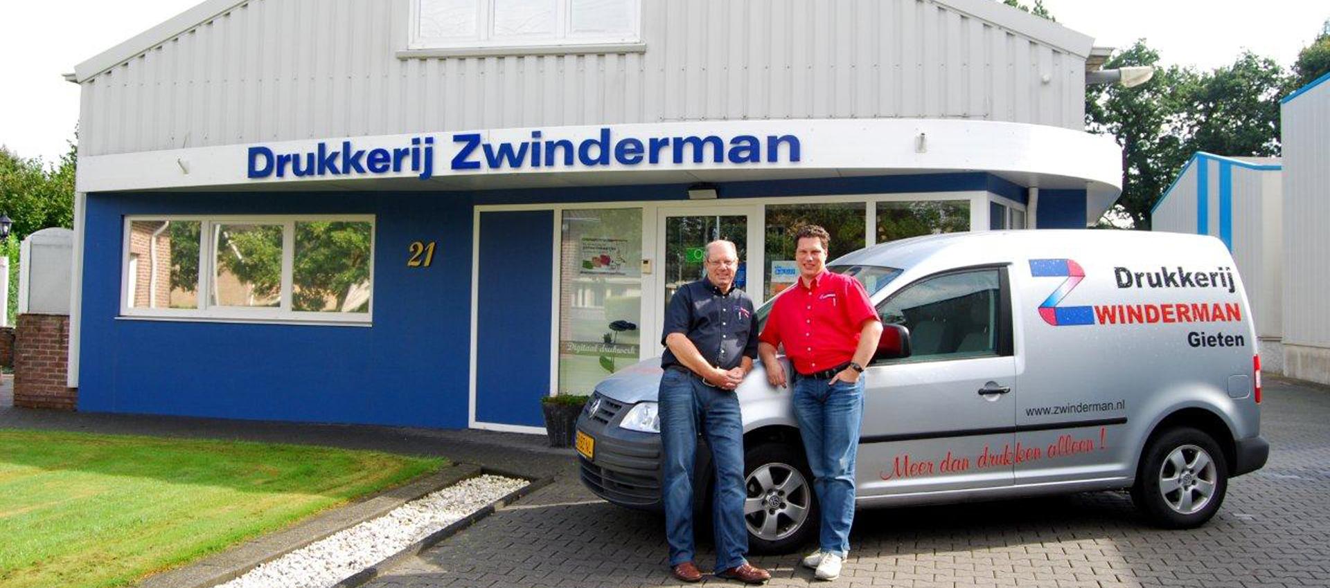 Welkom bij Drukkerij Zwinderman